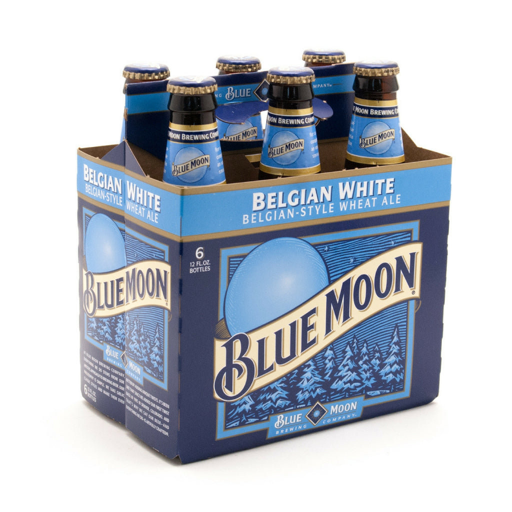 Coors Bluemoon  6 Pack Bottles