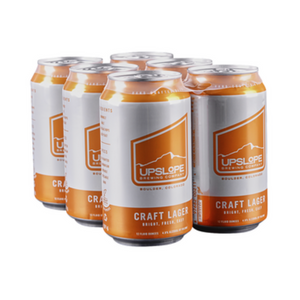 Upslope, Craft Lager, 6 Pack Cans