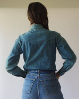 Vintage Denim Button Up
