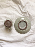 Ceramic Tea Cup and Saucer Set