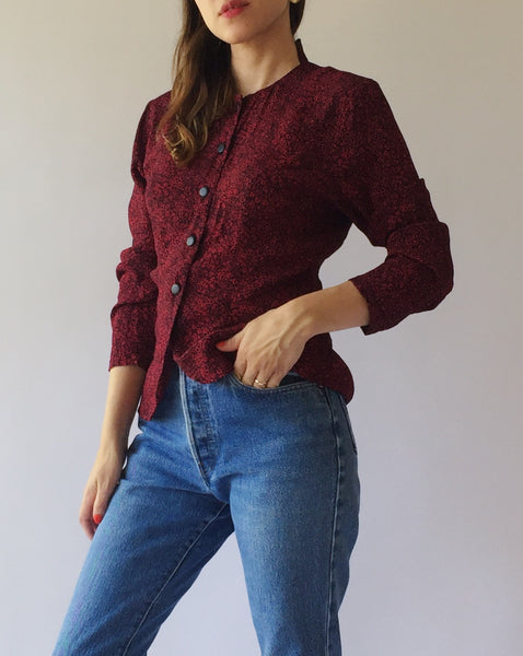 Button-up Blouse