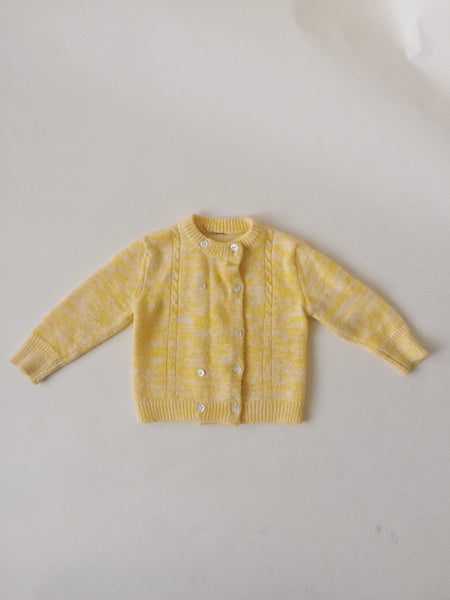 Vintage Yellow Sweater