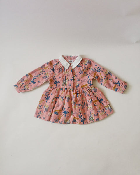 No Added Sugar Safari Dress, 12 months