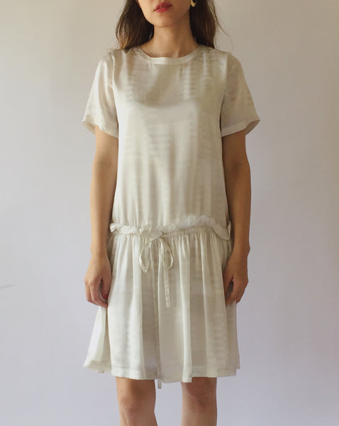 Opening Ceremony Silk Drop Waist Dress