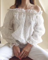 Romantic Puff Sleeve Blouse