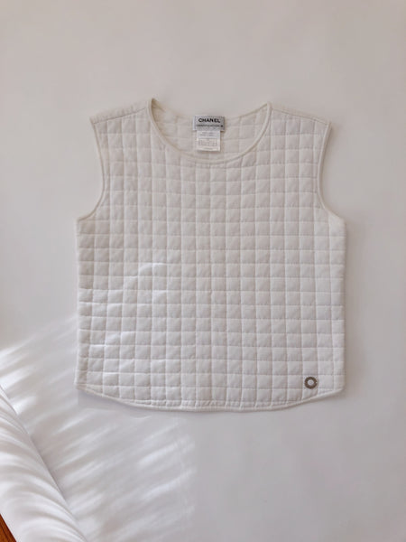 Early 2000s Chanel Quilted Top