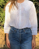 Vintage Cotton Sailor Blouse