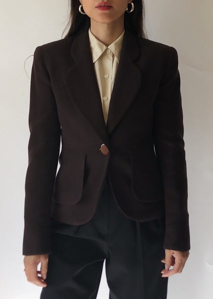 Vintage Christian Dior Fitted Blazer