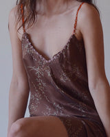 French Silk Slip Dress