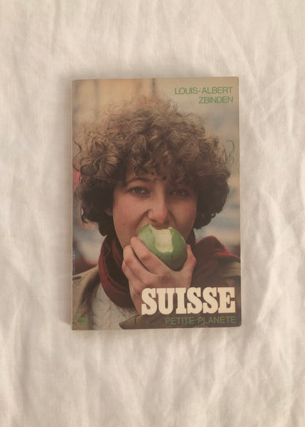 Vintage Suisse Travel Book