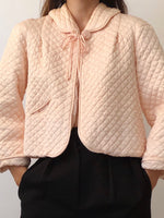 Vintage Quilted Bolero Bed Jacket