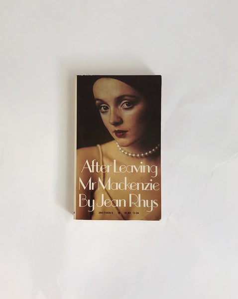 After Leaving Mr. MacKenzie by Jean Rhys