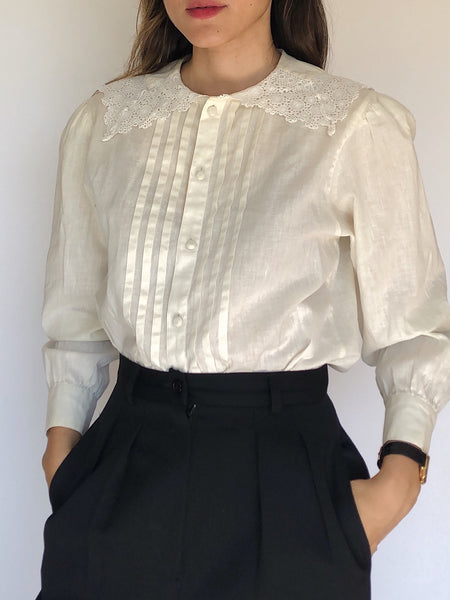 Vintage Romantic Blouse