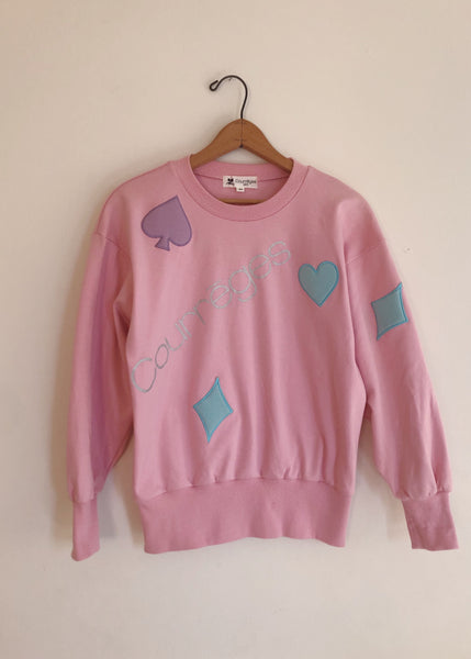 Vintage Courrèges Shapes Sweatshirt