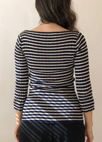 Vintage YSL Striped Top