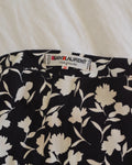 Yves Saint Laurent Floral Skirt