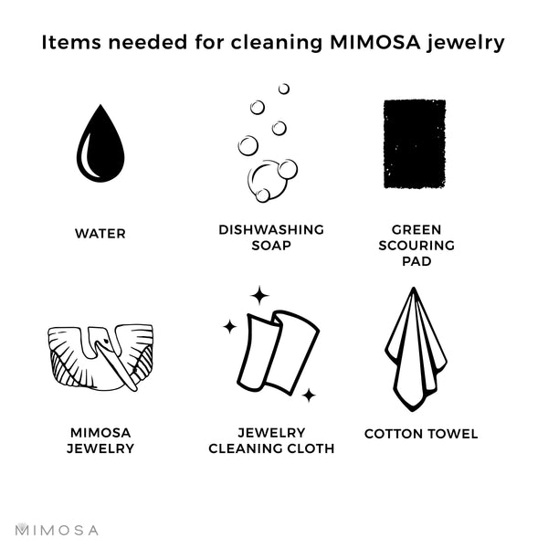 MIMOSA Handcrafted Cleaning and Care for Bronze Jewelry