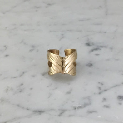 MARDI GRAS MASK RING