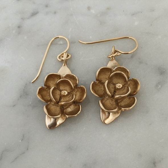 MAGNOLIA EARRINGS - MIMOSA Handcrafted Jewelry