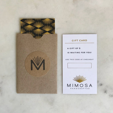 DIGITAL Gift Card - MIMOSA Handcrafted Jewelry