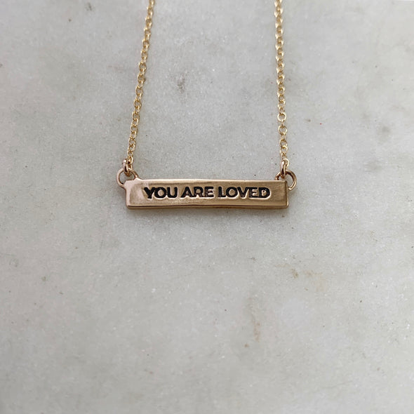 YOU ARE LOVED - MIMOSA Handcrafted Jewelry
