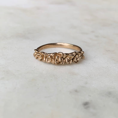 SUCCULENT RING - MIMOSA Handcrafted Jewelry