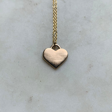 LIVE OUT LOVE HEART PENDANT