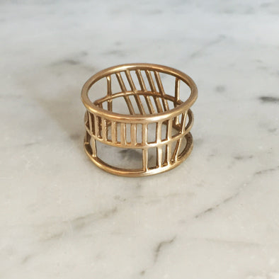 SOUL FRIEND RING - MIMOSA Handcrafted Jewelry