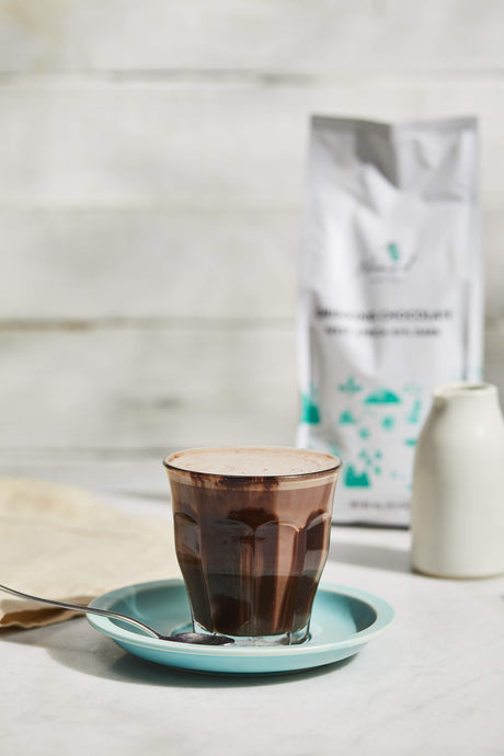 HOT CHOCOLATE WITH CACAO MIX