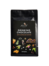 Load image into Gallery viewer, Nomad Chocolate with Australian Natives rich hot chocolate, vegan, dairy and gluten free
