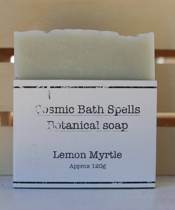 Lemon Myrtle CP Soap