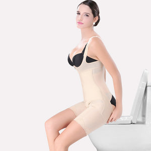 Shoulder Strap Under-bust Bodysuit - UShopO Online Store