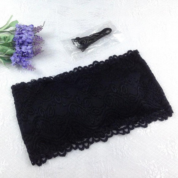 One-Piece Lace tube bra - UShopO Online Store