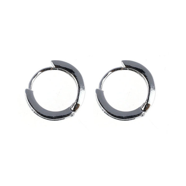 Hoop Silver-plated Earrings - UShopO Online Store