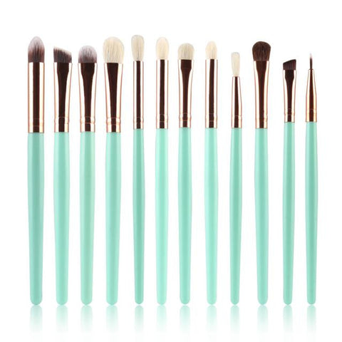 12 Pieces Makeup Brush - UShopO Online Store
