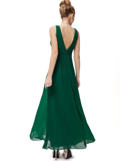 (SOLD OUT) Backless Maxi Dress - UShopO Online Store