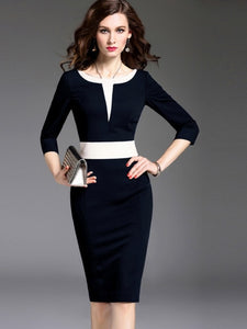 (SOLD OUT) Classy Sheath Dress - UShopO Online Store