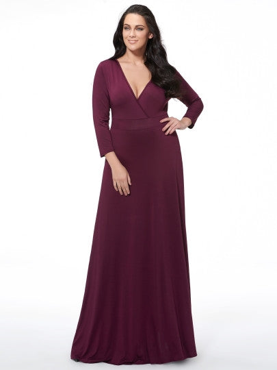 (SOLD OUT) Floor Length Glamour Dress - UShopO Online Store