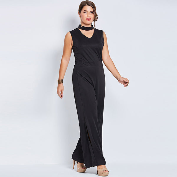 Hollow Slim Jumpsuit - UShopO Online Store