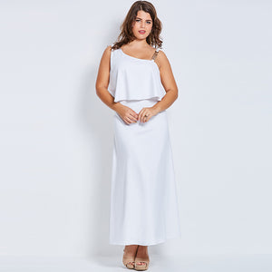 White Day and Night Dress - UShopO Online Store