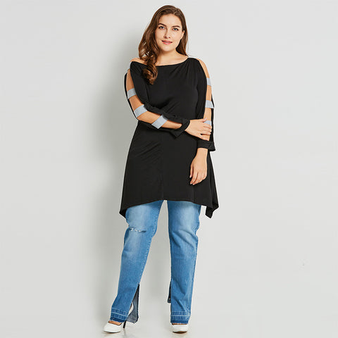 Long top with arm embellishments - UShopO Online Store