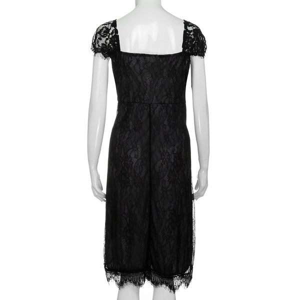 Sleeveless Lace Formal Cocktail Dress - UShopO Online Store