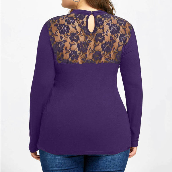 Beautiful Lace Casual Top - UShopO Online Store