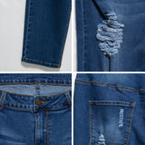 Slim Cotton Denim Jeans - UShopO Online Store