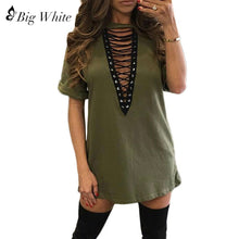 DEEP V NECK WOMENS SHIRT