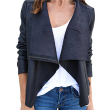 SUEDE SHORT JACKET