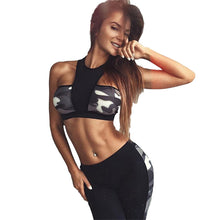 TWO PIECE CAMOUFLAGE TRACKSUIT SET