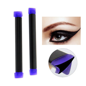 FOONBE Brand 1 Pcs Two Sides Eyeliner Stamp Pencil Maquillaje Star Easy to Wear Eye Liner Seal Pen Eyes Makeup Cosmetic Tool