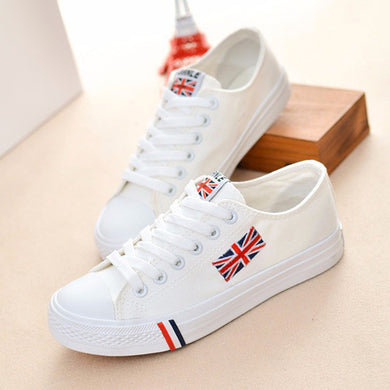 GREAT BRITAIN CANVAS SHOES