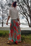Wrap Skirt - Reef Print